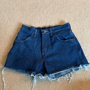 Vintage Jean Shorts cut from Jeans